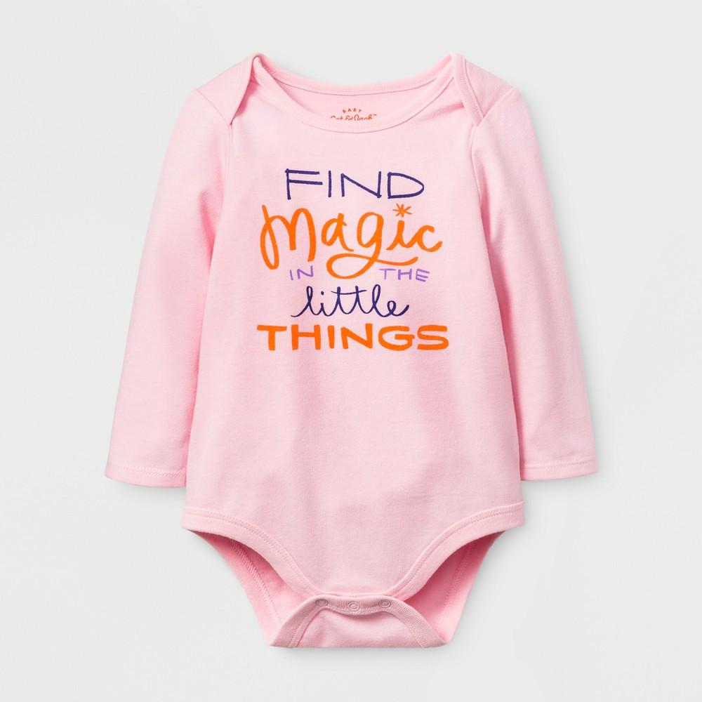 Baby Girls Find Magic Bodysuit - Cat & Jack Pink 24 M