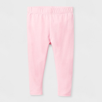 Baby Girls' Bow Leggings - Cat & Jack™ Pink 3-6 M