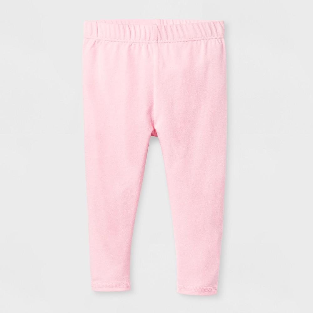Baby Girls Bow Legging - Cat & Jack Pink 3-6 M