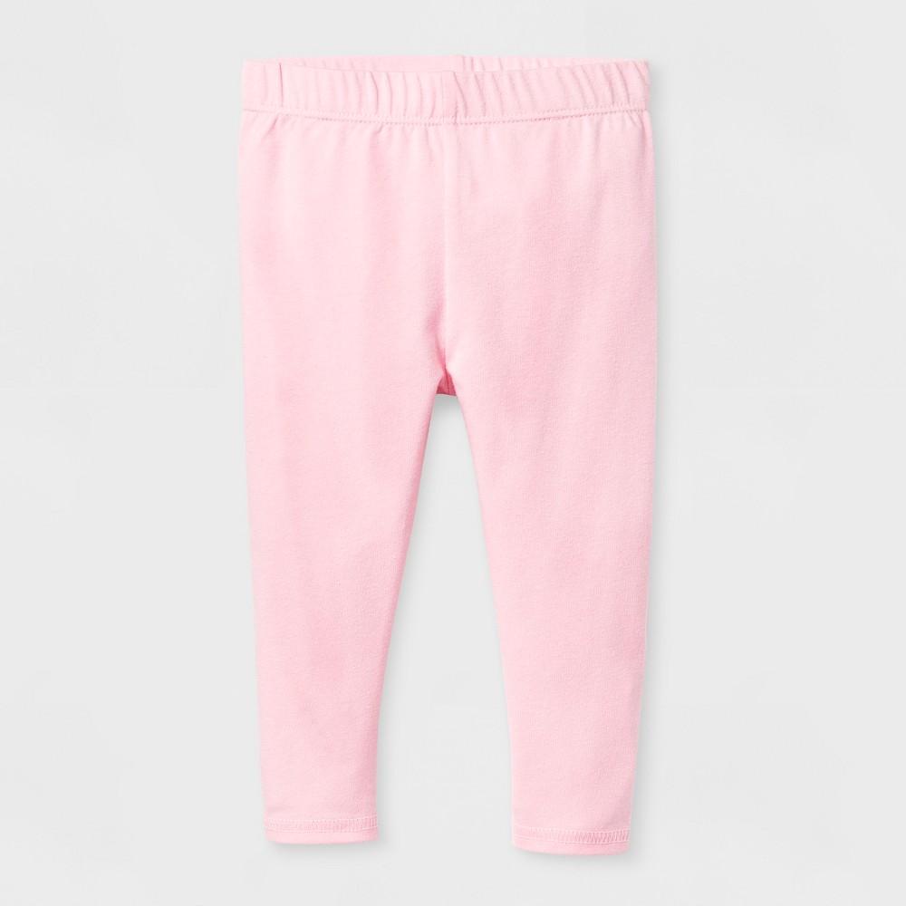 Baby Girls Bow Legging - Cat & Jack Pink 6-9 M