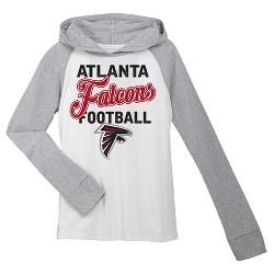 Atlanta Falcons Girls' Lightweight Hoodie Pullover