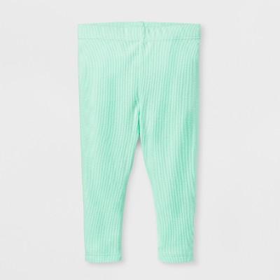 Baby Girls' Leggings - Cat & Jack™ Green 6-9 M