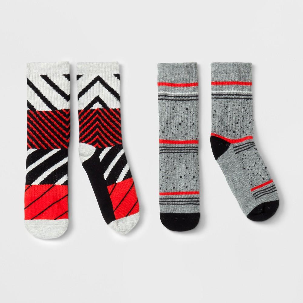 Imn Socks Adult Male Casual Socks Pair of Thieves 2 Pk Orange L, Mens
