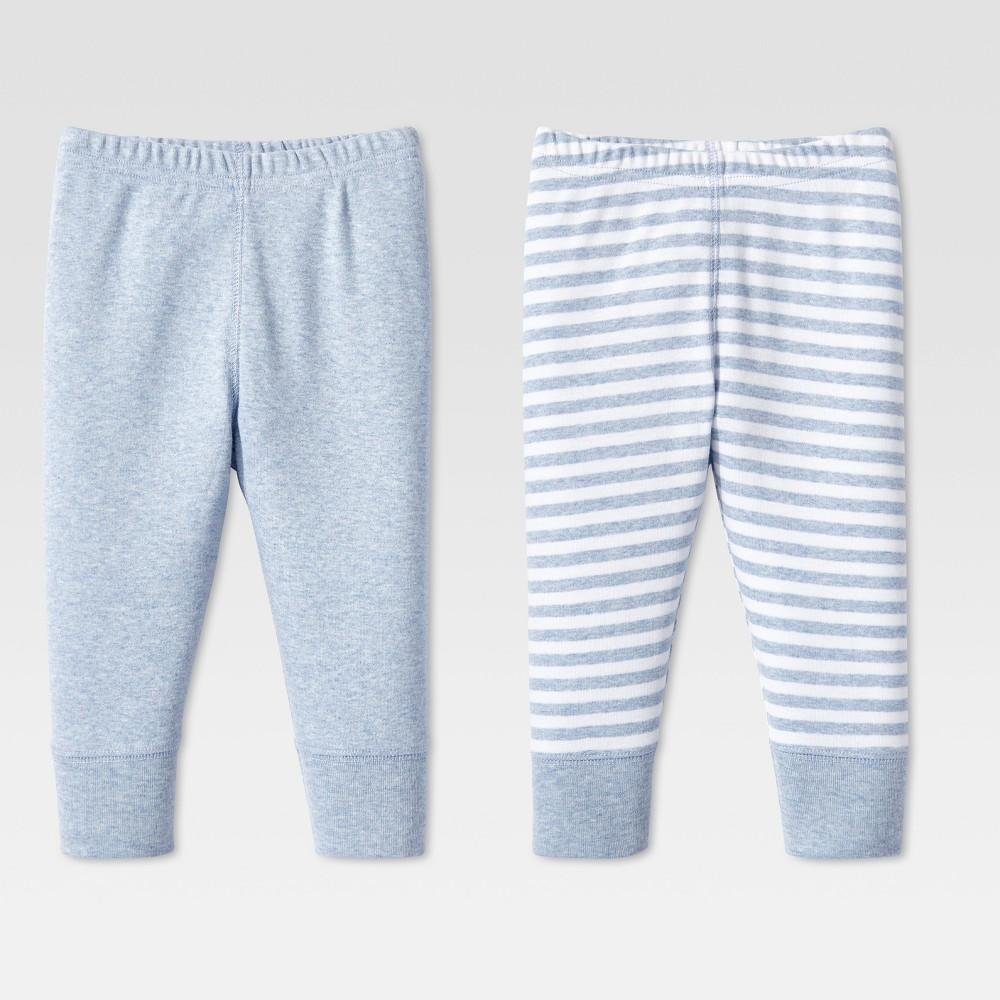Lamaze Baby Boys Organic 2pc Pants Set - Blue 24M