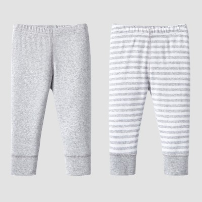 Lamaze Baby Organic 2pc Pants Set - Gray 3M