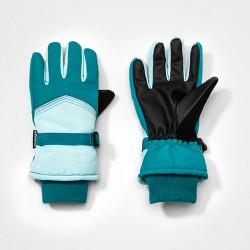 C9 Champion® Girls' Colorblock Gloves - Blue