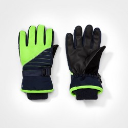 Boys' Colorblock Gloves C9 Champion® - Navy/Green