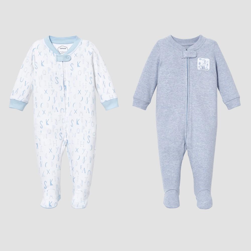 UPC 190489012226 product image for Lamaze Baby Boys' Organic 2pc Sleep N' Play Set - Blue 6M | upcitemdb.com