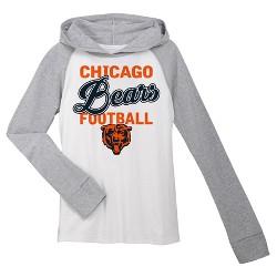 Chicago Bears Girls' Lightweight Hoodie Pullover