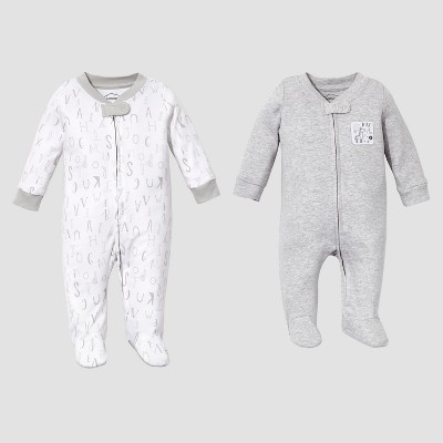 Lamaze Baby Organic 2 pc Sleep N' Play Set - Gray NB