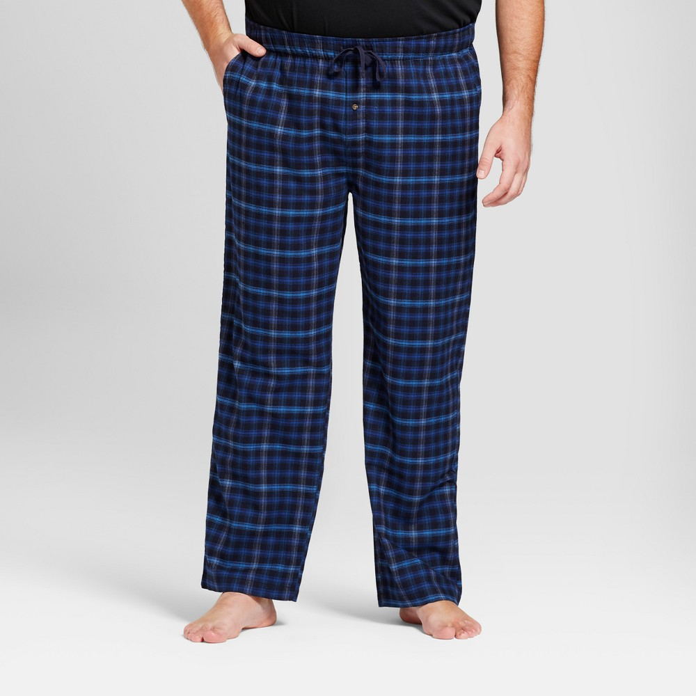 Men's Big & Tall Woven Flannel Pajama Pants - Goodfellow ...