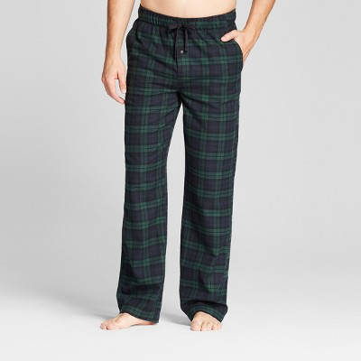 Men's Woven Flannel Pajama Pants - Goodfellow & Co™ Green Plaid M