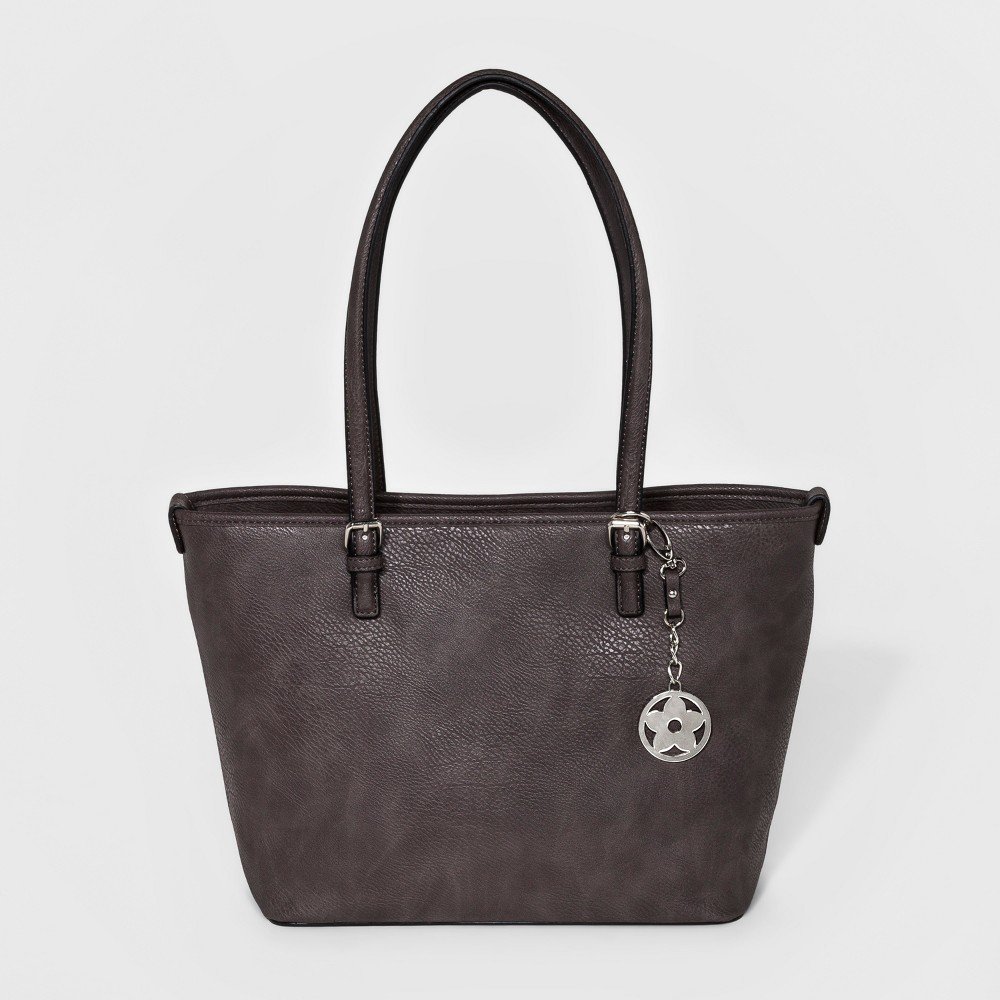 Bueno Womens Promo Tote Handbag - Dark Taupe, Size: Large