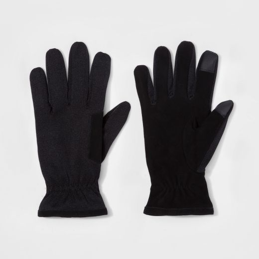 Men's Synthetic Dress Glove - Goodfellow & Co™ Black