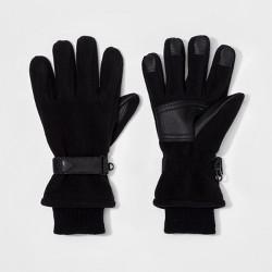 Men's Windproof Fleece Ski Glove - Goodfellow & Co™ Black