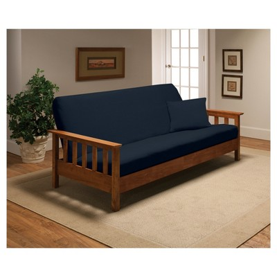 Navy Futon Cover - Madison Industries