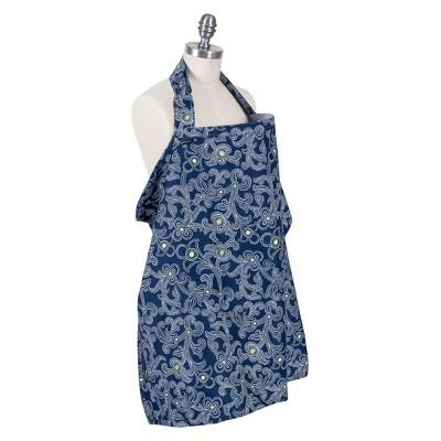 Bebe au Lait® Premium Cotton Nursing Cover - Navy
