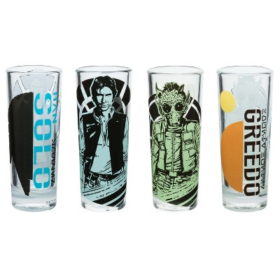 Zak Designs® Star Wars® Han Solo and Greedo 4oz Shot Glasses - Set of 4