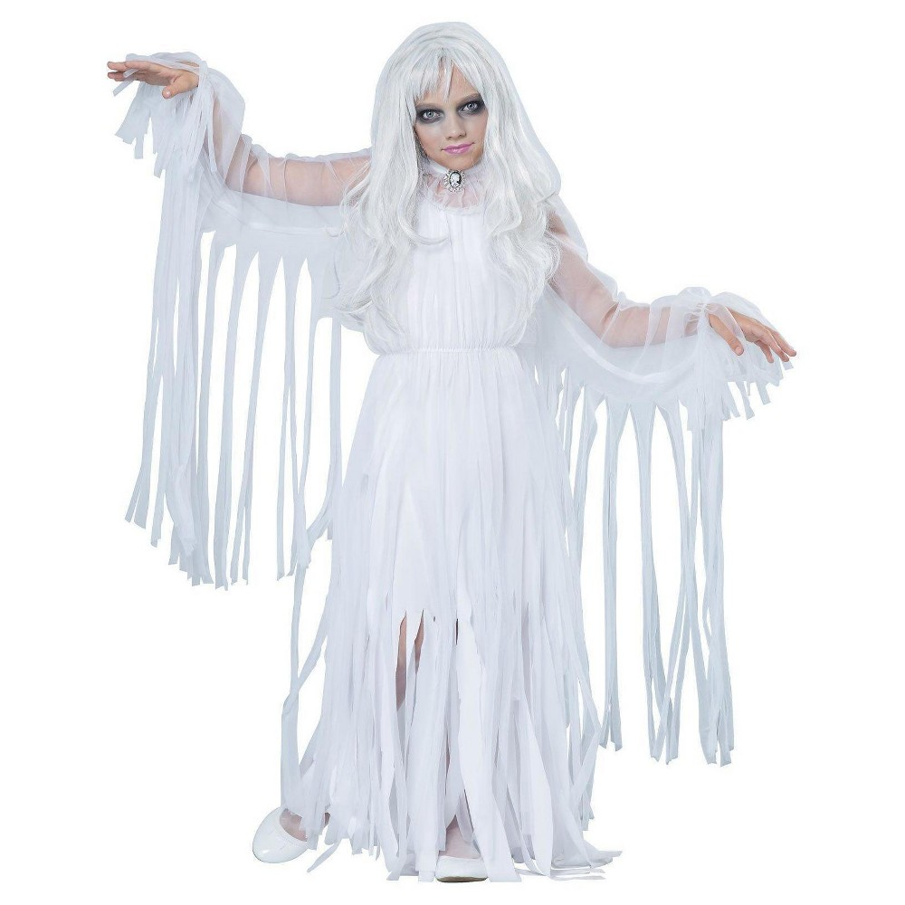 Girls Ghostly Girl Child Costume X-Large, Size: XL, Multicolored