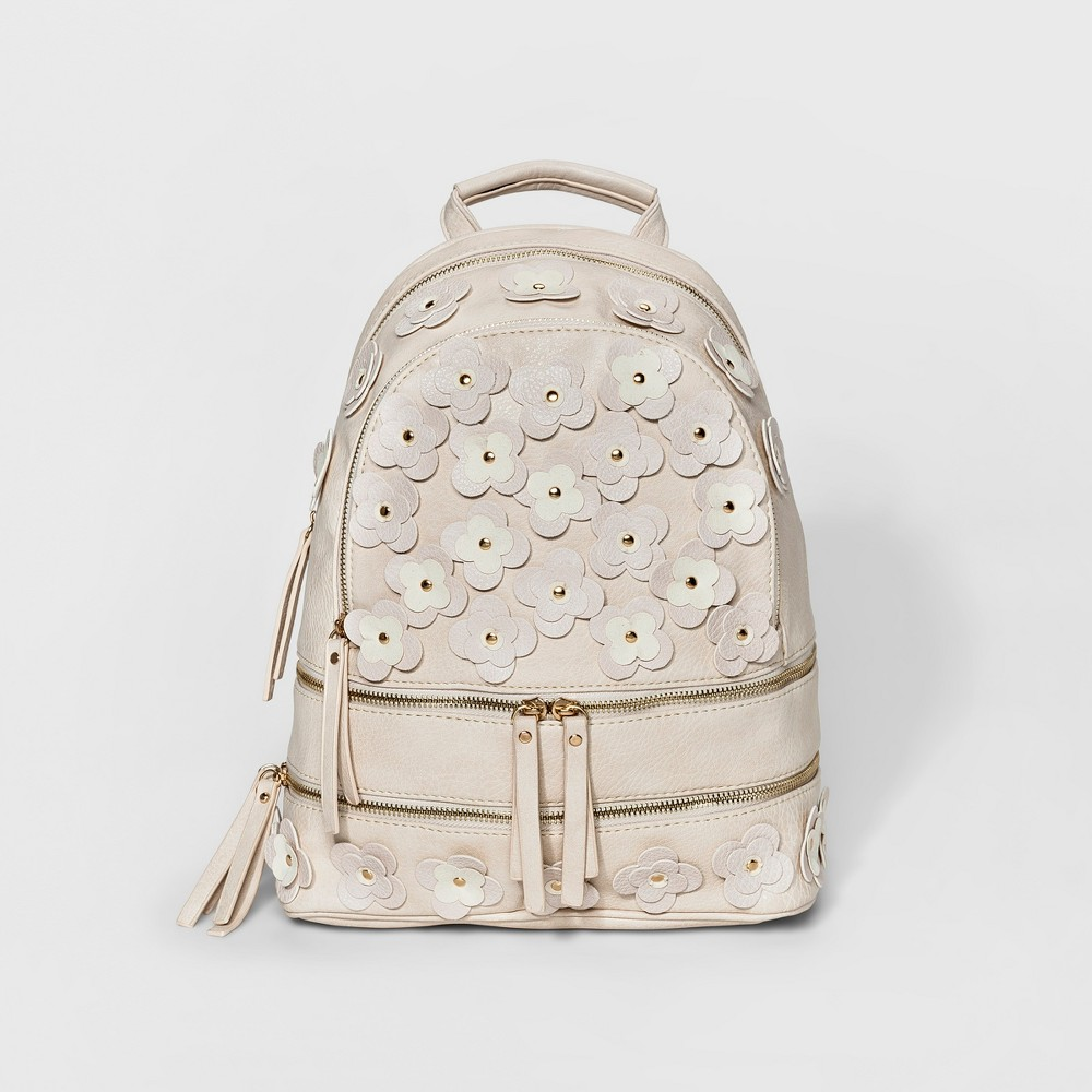 Under One Sky 2 in 1 Backpack - Bone (Ivory)