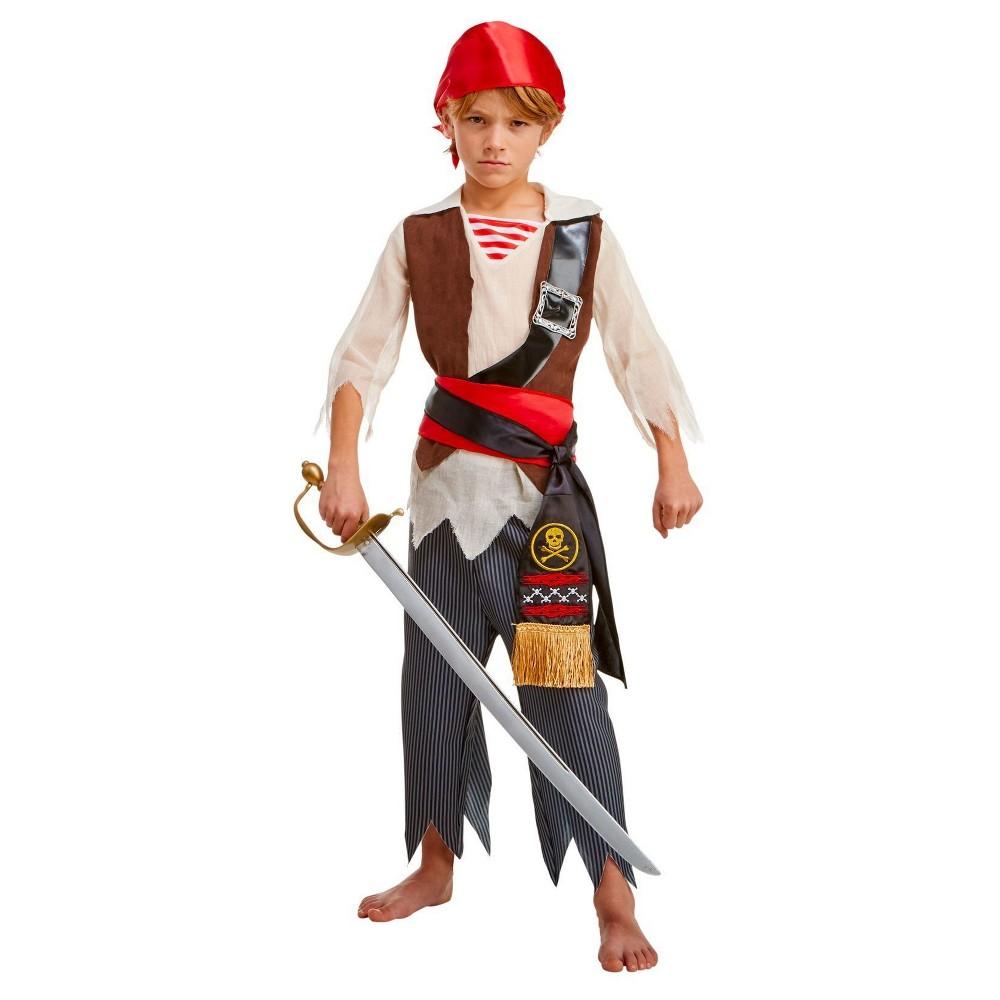 Boys Pirate Voyager Child Costume S(4-6), Multicolored