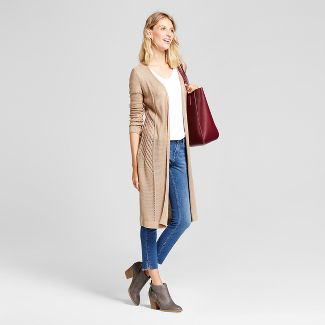 white sweater duster : Target