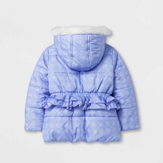 Paw Patrol Toddler Girls' Puffer Jacket - Purple : Target