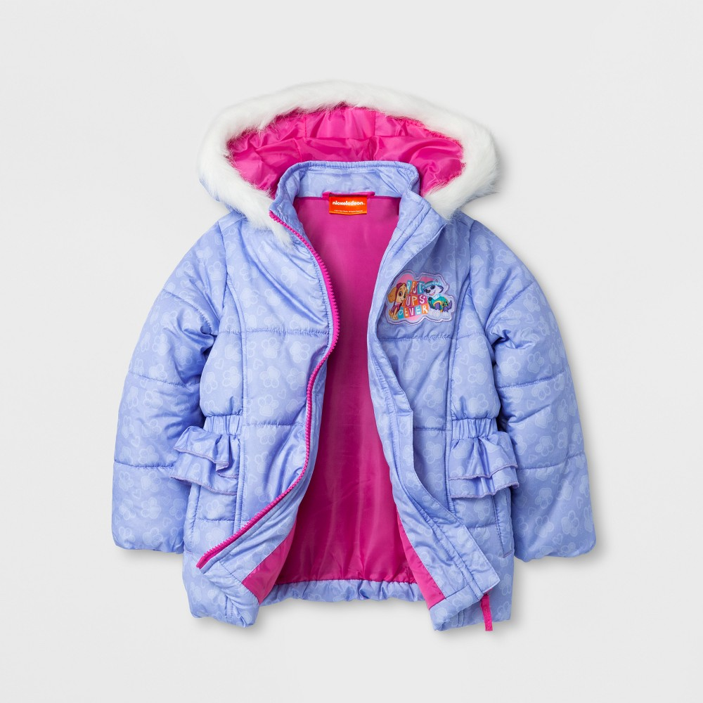 Outerwear Coats And Jackets Paw Patrol 4T Baby Purple, Infant Girls