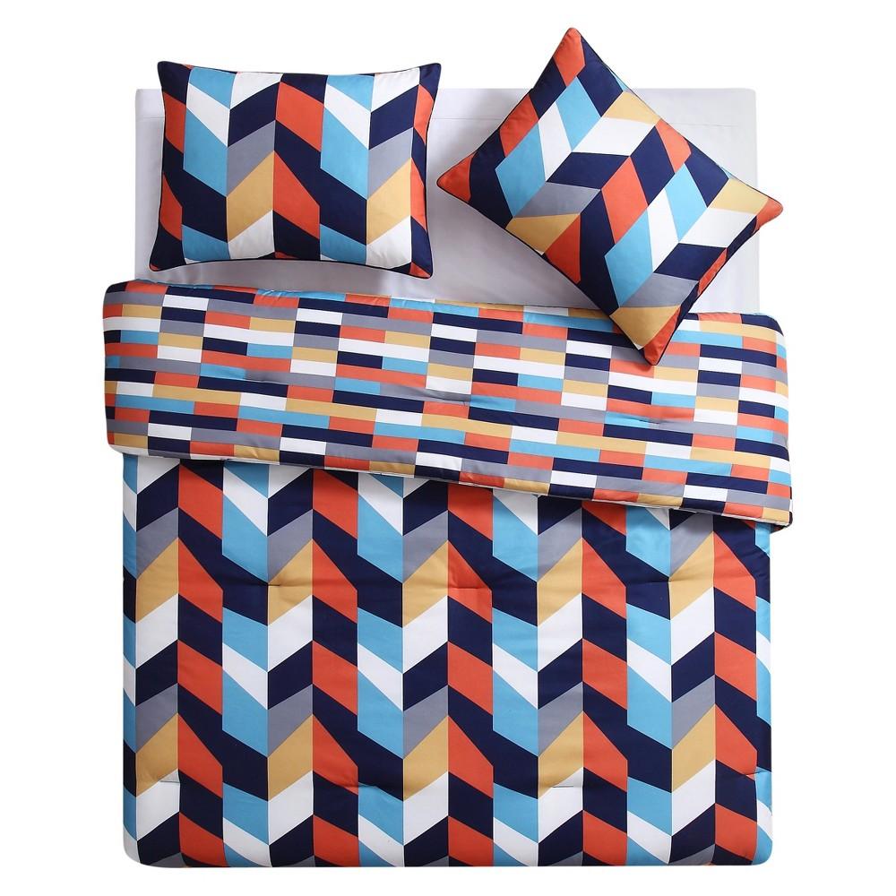 Geometric Comforter Set - Clairebella