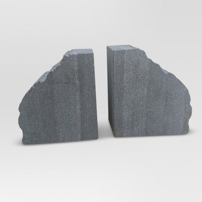 Stone Bookend - Gray - Threshold™