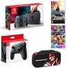 Target.com deals on Nintendo Switch with Gray Joy-Con Starter Bundle