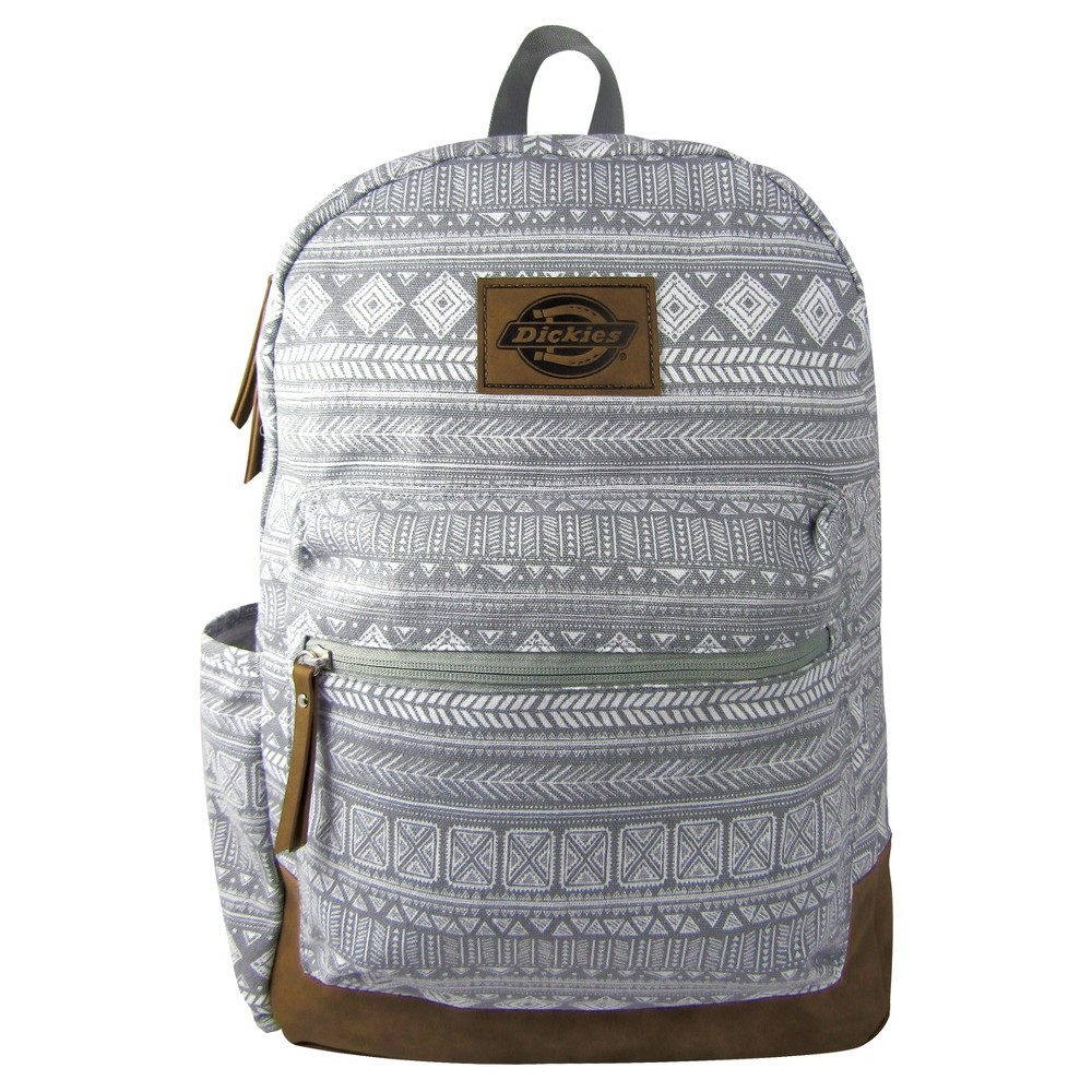 Dickies Hudson Canvas Backpack - Gray Tribal, Grey Tribal