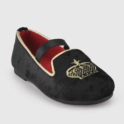 Toddler Girls' Genuine Kids Joli Ballet Flats - Black 6