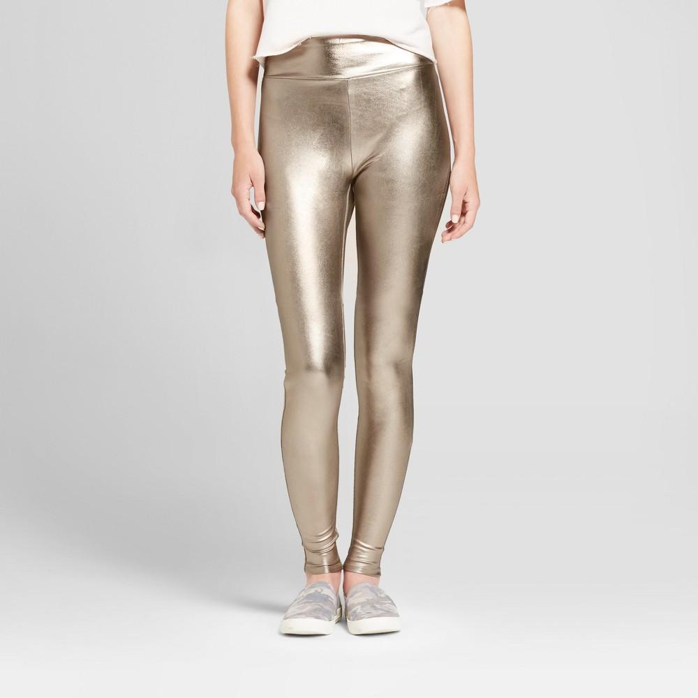 Womens Metallic Leggings - Mossimo Supply Co. Silver L