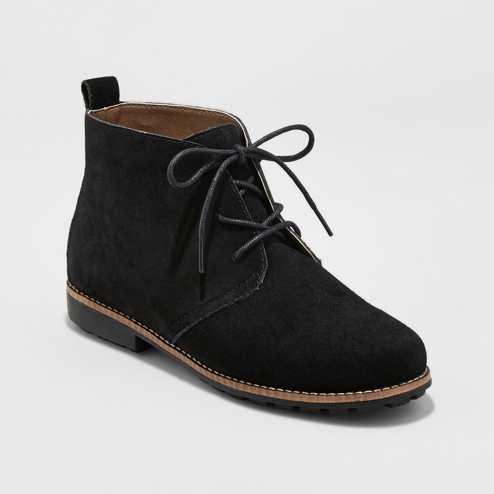 Womens Mountain Sole Amberley Chuccka Boots - Black 8.5
