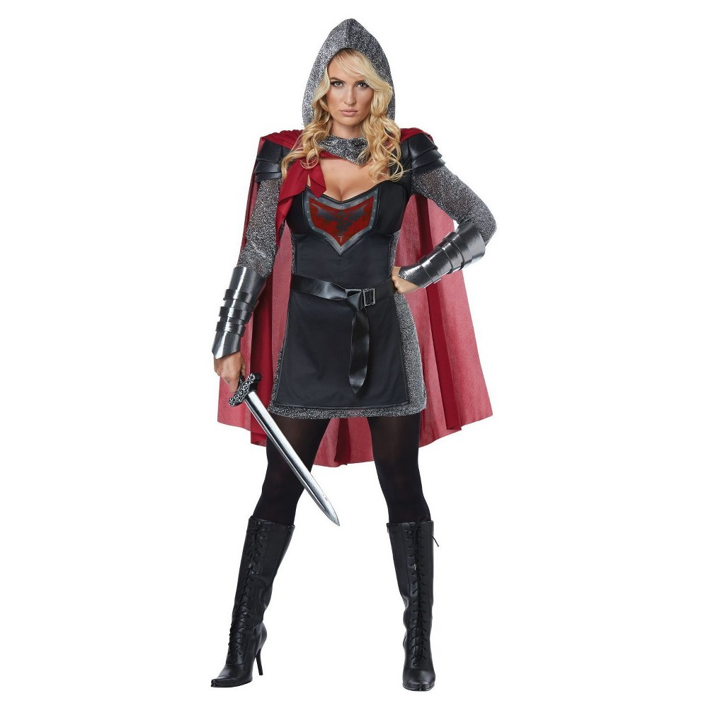 Womens Valorous Knight Adult Costume Large, Multicolored
