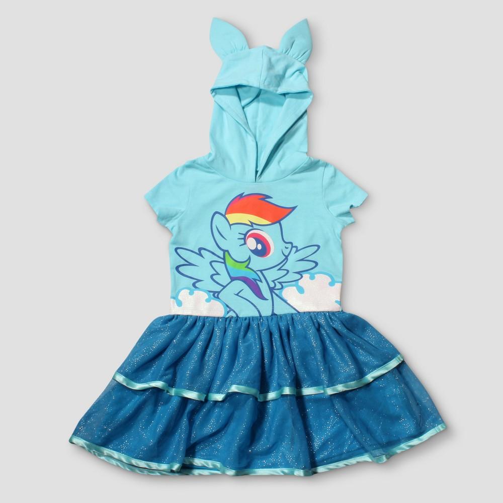 Toddler Girls My Little Pony Rainbow Dash Tutu Dress - Light Blue 5T