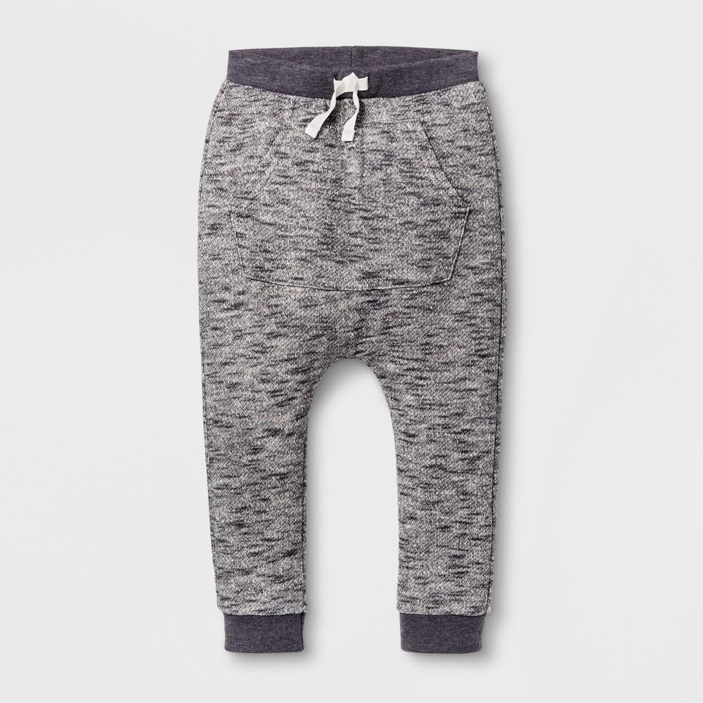 Jogger Pants Cat & Jack Charcoal 18 M, Infant Boys, Gray