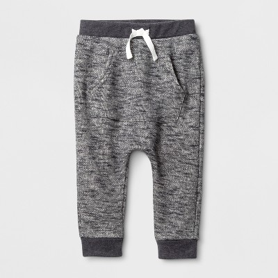Baby Boys' Jogger Pants - Cat & Jack™ Charcoal 6-9M