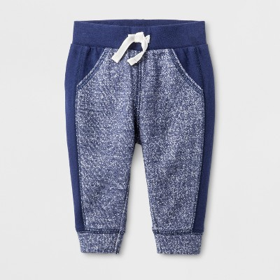 Baby Boys' Jogger - Cat & Jack™ Nightfall Blue 12M