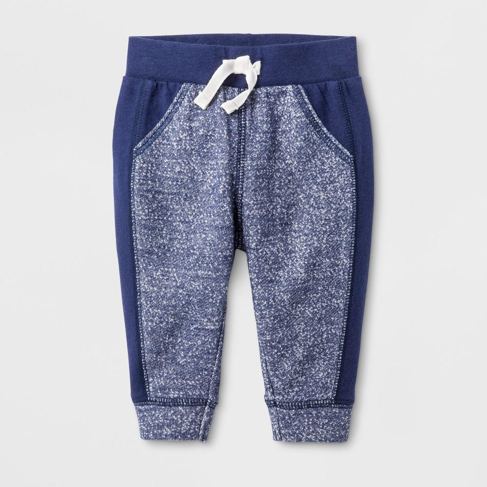 Jogger Pants Cat & Jack Nightfall Blue 18 M, Infant Boys