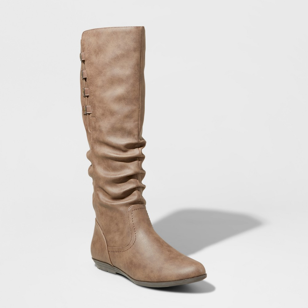Womens Mountain Sole Frida Slouch Boots - Brown 6.5