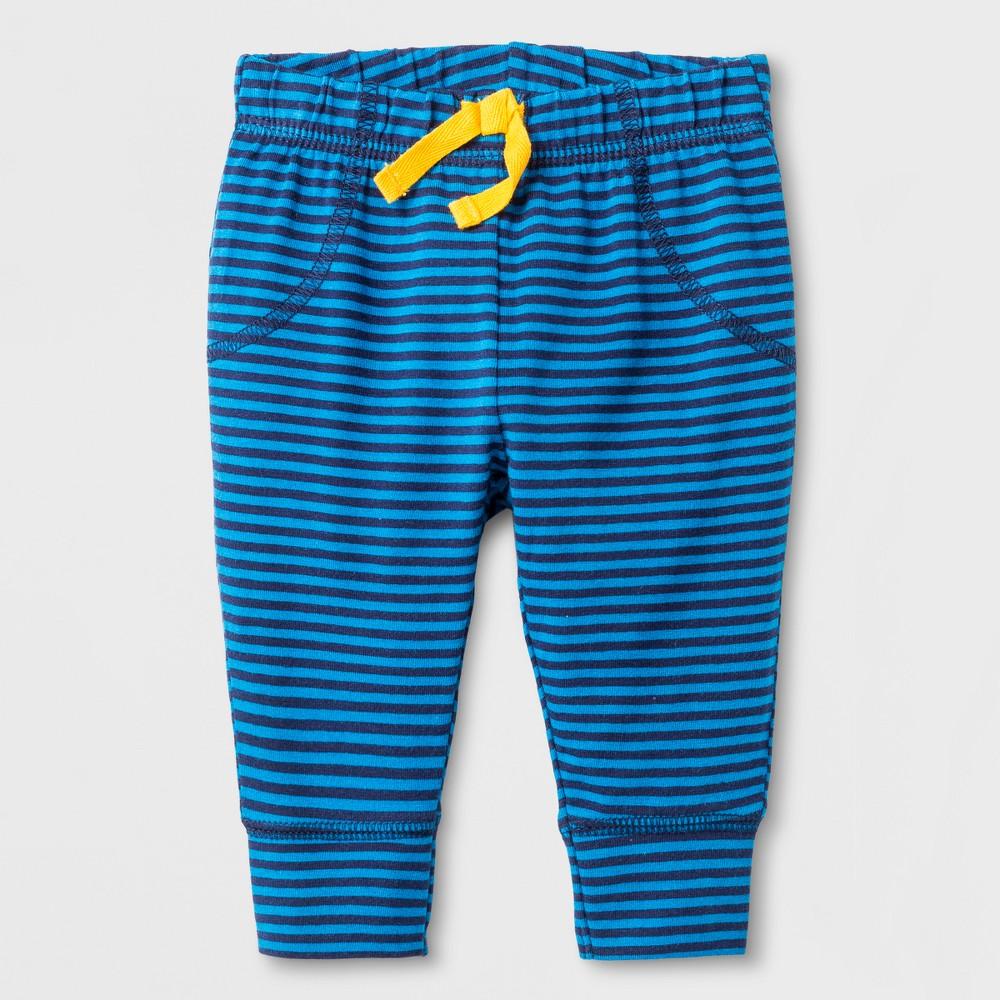 Male Leggings Pants Cat & Jack Atlantis Turq NB, Newborn Boys, Blue