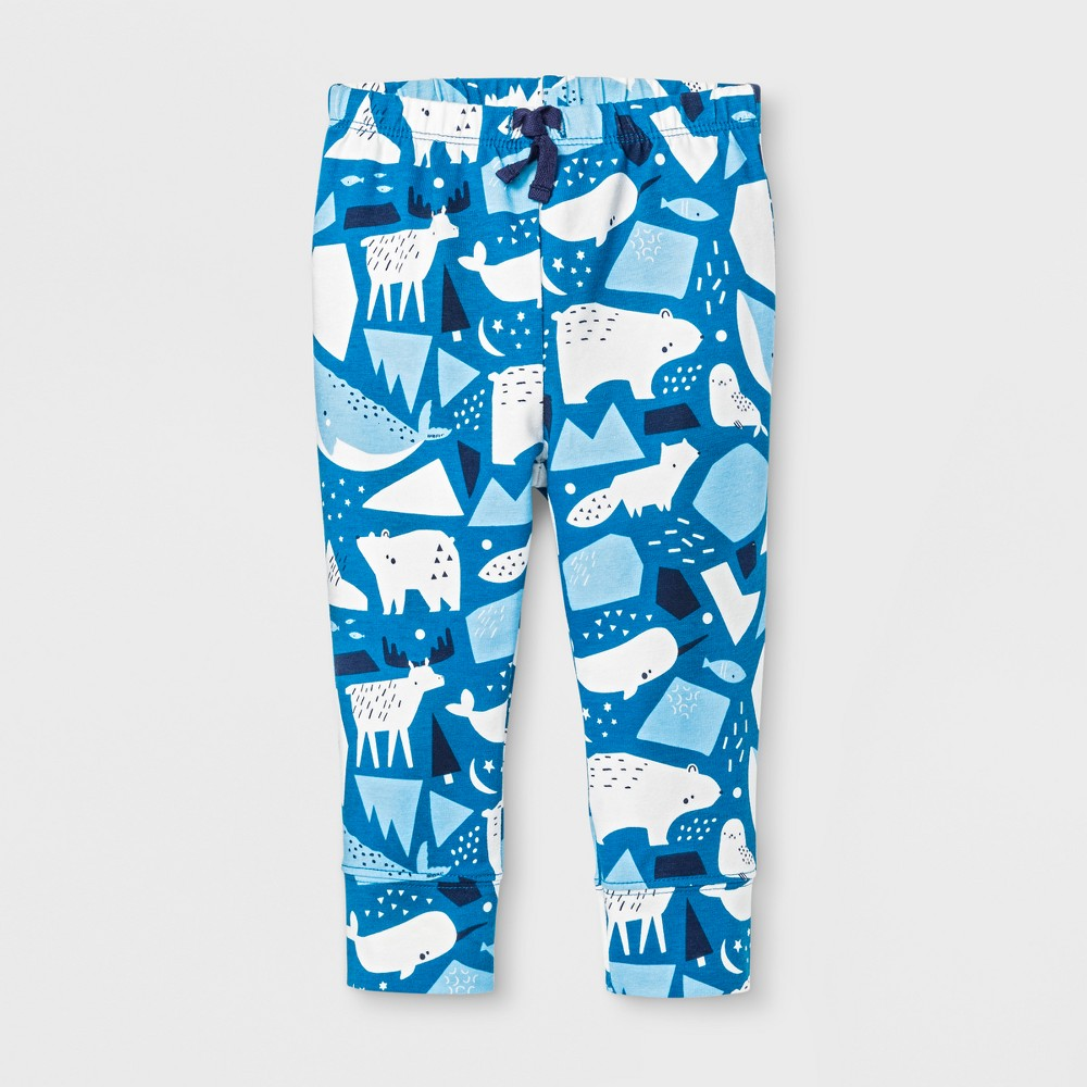 Leggings Pants Cat & Jack Atlantis Turq 3-6 M, Infant Boys
