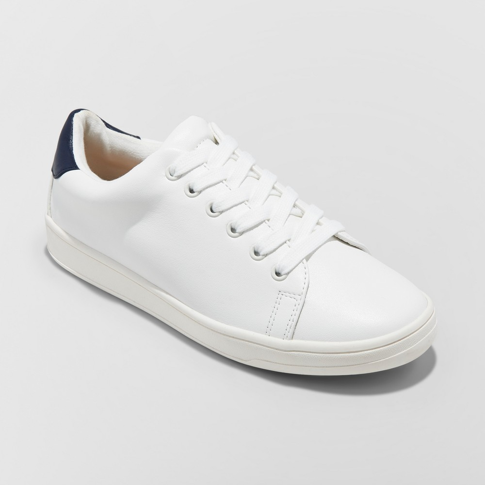 Womens Ritzy Sneakers - A New Day White 6.5