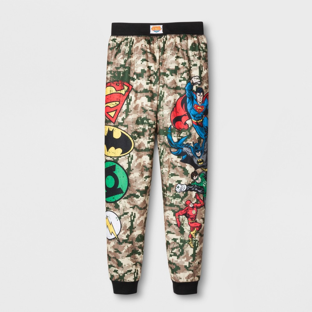 Toddler Boys DC Comics Justice League Pajama Pants - Green M