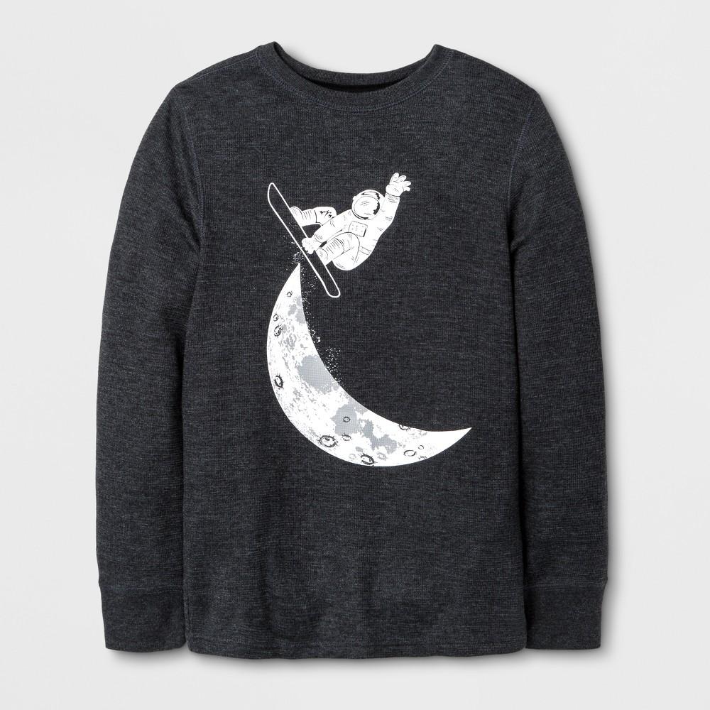 Boys T-Shirt - Cat & Jack Black L