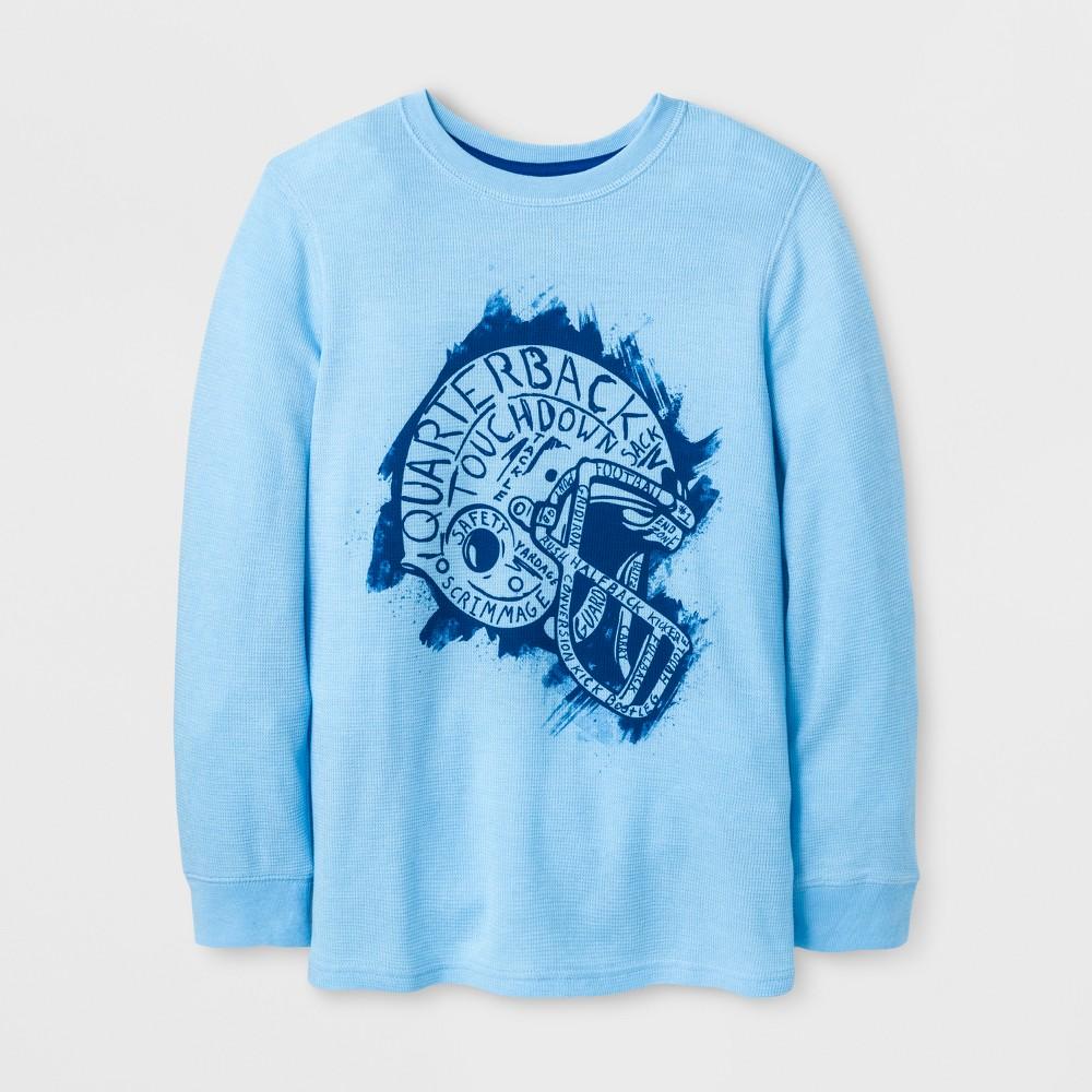 Boys T-Shirt - Cat & Jack Blue Moon XS