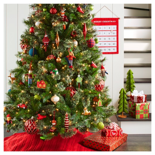 Camp Christmas Felt Bird Ornament Set 4ct Wondershop™ Target - Camp Christmas Tree
