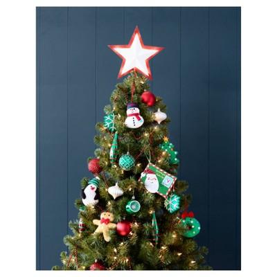 40ct Christmas Fashion Winter Park Ornament Set  Wondershop  Target